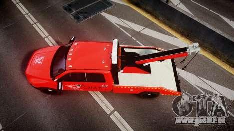 Dodge Ram 3500 Falck Service [ELS] pour GTA 4 est un droit