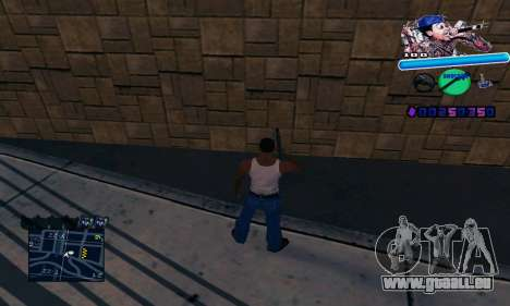 C-HUD Wiz Khalifa für GTA San Andreas dritten Screenshot