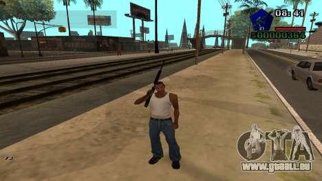 C-HUD by Kidd für GTA San Andreas dritten Screenshot
