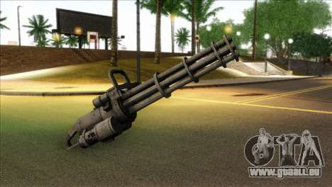 Minigun from GTA 5 pour GTA San Andreas