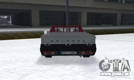 Daewoo FSO Polonez Truck Plus ST 1.9 D 2000 für GTA San Andreas zurück linke Ansicht