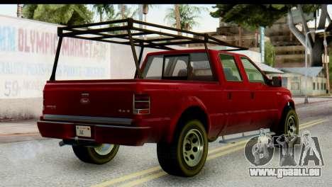 GTA 5 Vapid Sadler IVF pour GTA San Andreas laissé vue