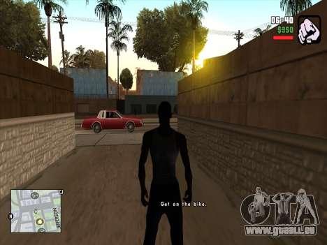 Mobile C-HUD pour GTA San Andreas deuxième écran