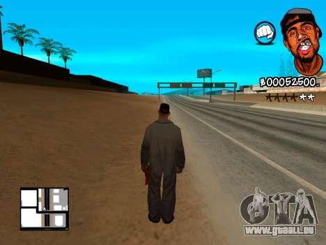 C-HUD WeJack pour GTA San Andreas troisième écran