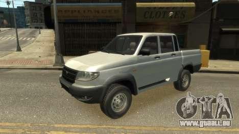 UAZ Patriot Pickup v.2.0 pour GTA 4