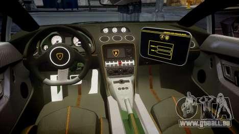 Lamborghini Gallardo LP570-4 LCPD [ELS] für GTA 4 Rückansicht