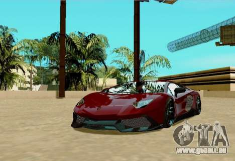 Lamborghini Aventador pour GTA San Andreas