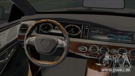 Mercedes-Benz S350 W222 2014 pour GTA San Andreas vue de droite