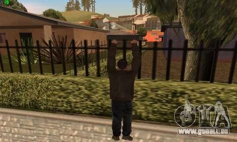 Des Animations à partir de GTA 4 pour GTA San Andreas quatrième écran