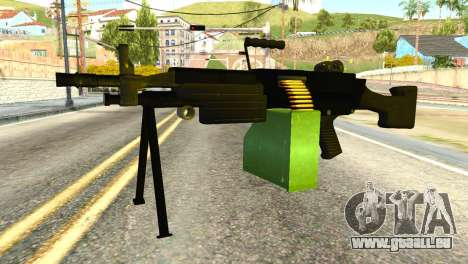 M249 Machine Gun pour GTA San Andreas