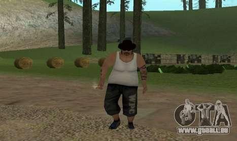 Réaliste de la démarche pour GTA San Andreas