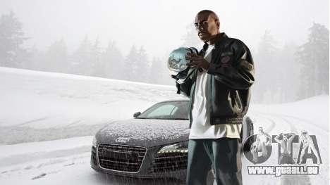 L'hiver écrans de démarrage pour GTA 4 huitième écran