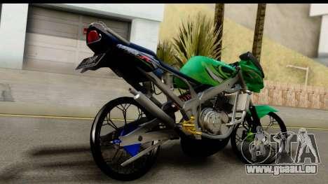 Kawasaki Ninja R Drag pour GTA San Andreas laissé vue
