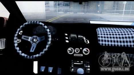 Mitsubishi Eclipce pour GTA San Andreas vue arrière
