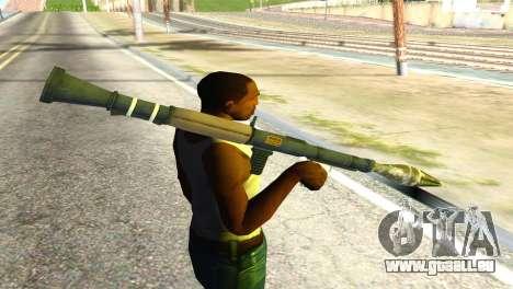 Rocket Launcher from GTA 5 pour GTA San Andreas troisième écran