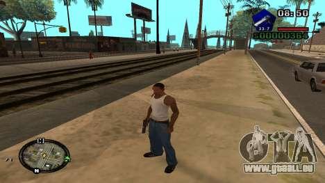 C-HUD by Kidd pour GTA San Andreas quatrième écran