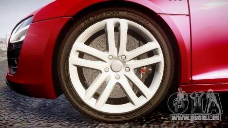 Audi R8 E-Tron 2014 für GTA 4 Rückansicht