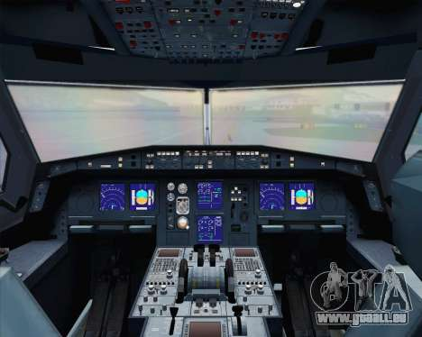 Airbus A330-300 Scandinavian Airlines pour GTA San Andreas moteur