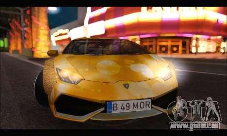 Lamborghini Huracan LB Solar für GTA San Andreas linke Ansicht