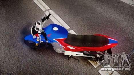 Honda Twister 2014 pour GTA 4 est un droit