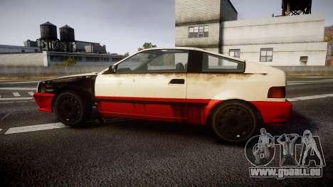 Dinka Blista Compact Beater pour GTA 4 est une gauche