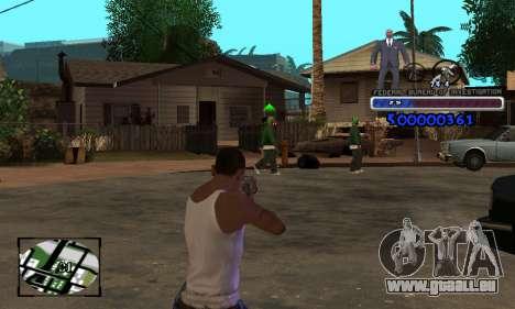 FBI C-HUD pour GTA San Andreas troisième écran