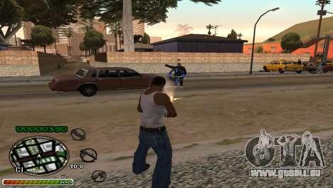 C-HUD Wonderful pour GTA San Andreas