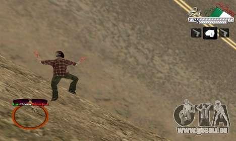 C-HUD LCN pour GTA San Andreas troisième écran