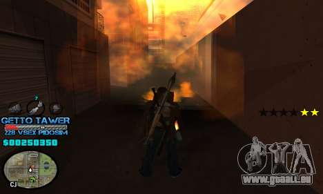 C-HUD Ghetto by Inovator für GTA San Andreas dritten Screenshot