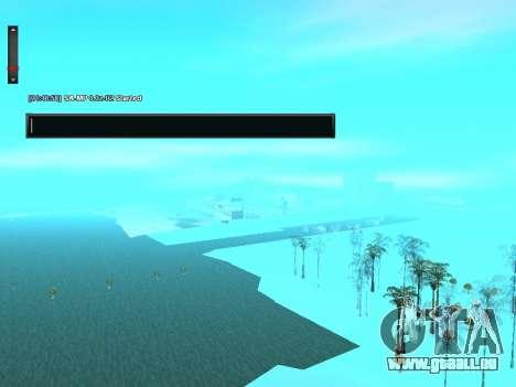 SampGUI Drapeau De L'Ukraine pour GTA San Andreas troisième écran