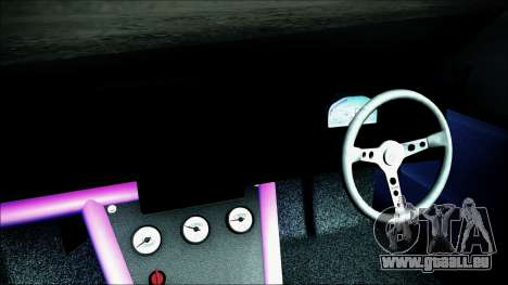 Toyota Mark 2 JZX81 pour GTA San Andreas vue de droite