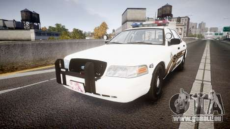 Ford Crown Victoria LCSO [ELS] MX7000 für GTA 4
