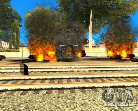 Ledios New Effects pour GTA San Andreas quatrième écran