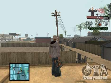 C-Hud Yakuza II pour GTA San Andreas deuxième écran