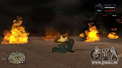 C-HUD Politra pour GTA San Andreas troisième écran