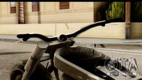 Innovation GTA 5 pour GTA San Andreas sur la vue arrière gauche