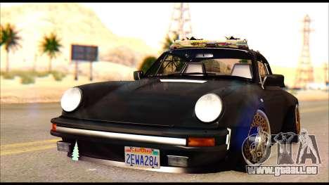 Porsche 911 1980 Winter Release pour GTA San Andreas