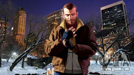 Winter-boot-screens für GTA 4