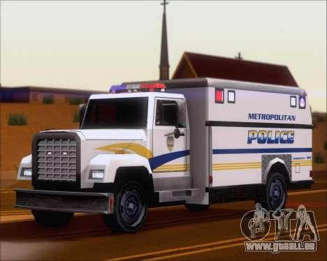 Enforcer Metropolitan Police für GTA San Andreas