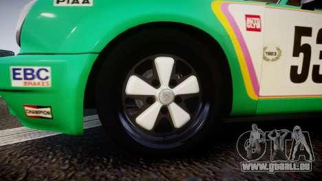 Porsche 911 Carrera RSR 3.0 1974 PJ53 für GTA 4 Rückansicht