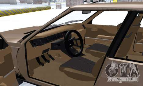 Renault 11 Turbo Phase I 1984 für GTA San Andreas Innen