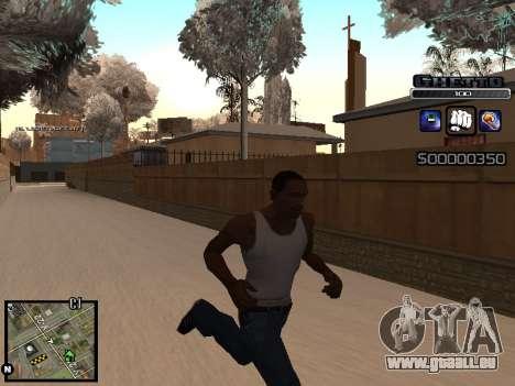 С-HUD GHETTO pour GTA San Andreas troisième écran