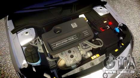 Mersedes-Benz A45 AMG PJs1 für GTA 4 Innenansicht