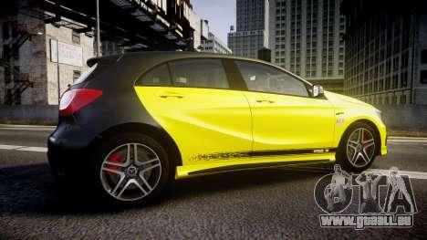 Mersedes-Benz A45 AMG PJs1 pour GTA 4 est une gauche
