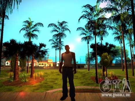 ENB v1.3 pour les faibles PC pour GTA San Andreas cinquième écran
