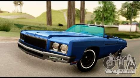 Chevy Caprice 1975 Beta v3 pour GTA San Andreas