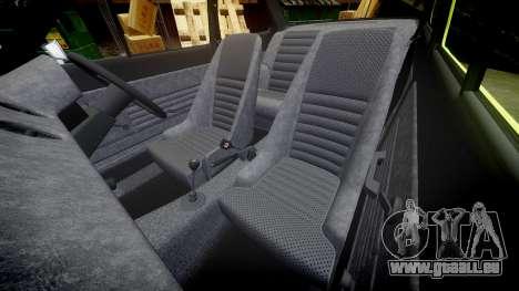 Ford Escort RS1600 PJ48 pour GTA 4 est un côté