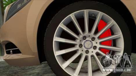 Mercedes-Benz S350 W222 2014 für GTA San Andreas zurück linke Ansicht