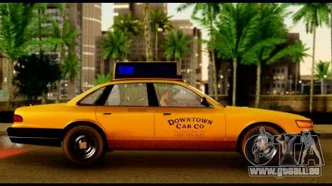 GTA 4 Vapid Stanier Downtown Cab für GTA San Andreas