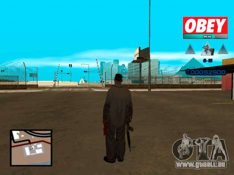 C-HUD Obey pour GTA San Andreas